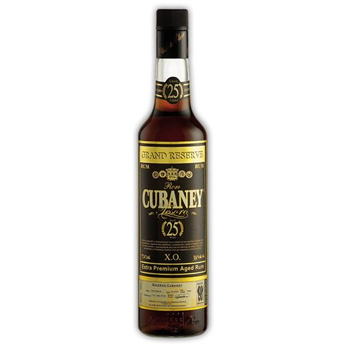 Cubaney Rum Tesoro 25 anni