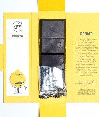 Cioccolato di Modica Bio Limone