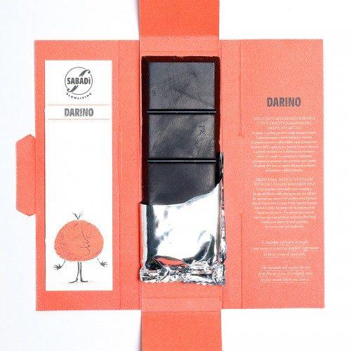Cioccolato di Modica bio Mandarino