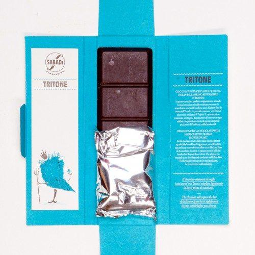Cioccolato di Modica bio Sale