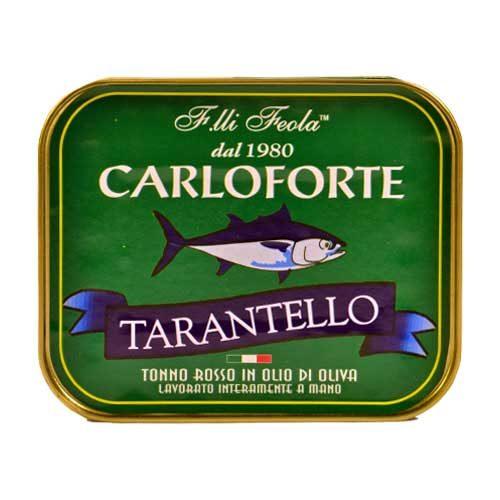 Tarantello di tonno rosso di Carloforte