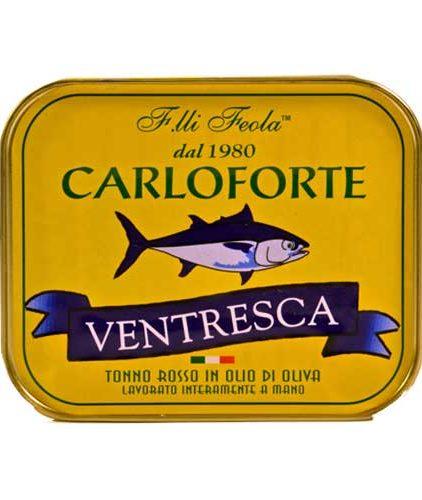 Ventresca di tonno rosso di Carloforte