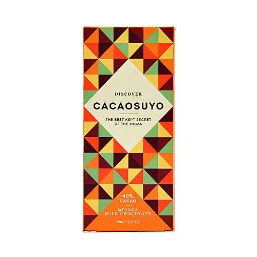 tavoletta di cioccolato Cacaosuyo QUINOA MILK
