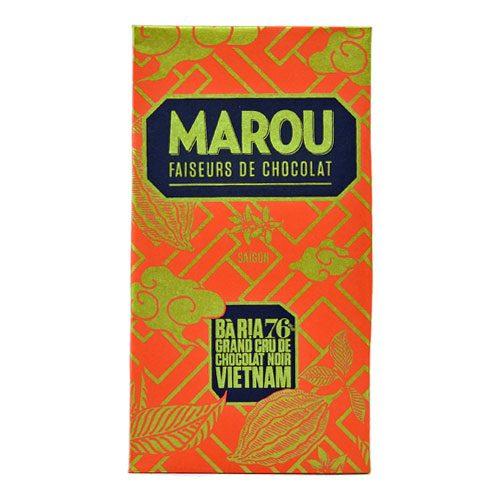 Marou Bà Ria 76% - Tavoletta di cioccolato Marou