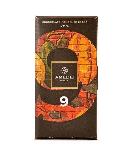 Amedei Tuscany - 9 - Cioccolato Fondente Extra 75%