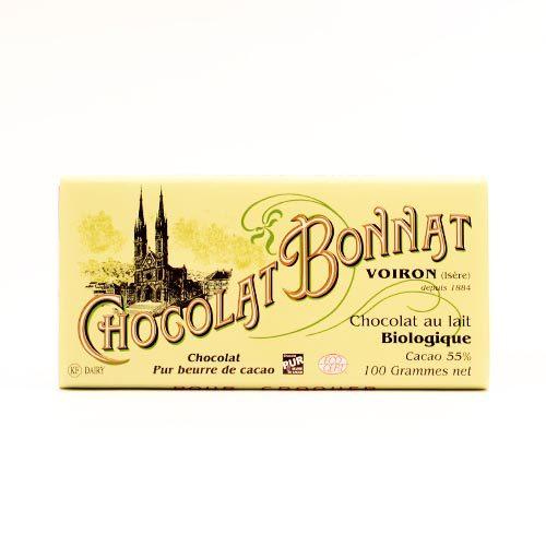 Chocolat Bonnat - Biologique au Lait