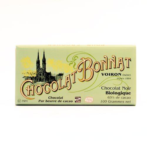 Chocolat Bonnat - Biologique Noir
