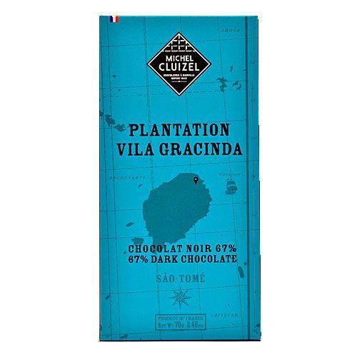 Michel Cluizel - Vila Gracinda SÃO TOMÉ - Chocolat noir 67%