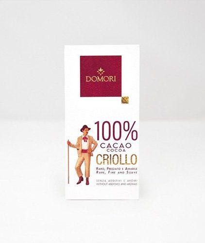Domori - il 100% Criollo - Cacao Criollo 100 %