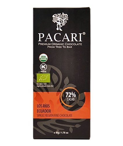 Tavoletta Cioccolato Pacari - Los Rìos 72% - Single Region Fine Chocolate