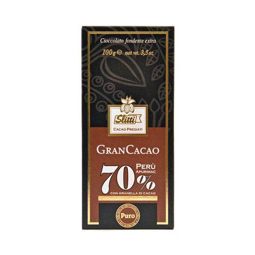 Slitti - Gran Cacao 70 % - Perù Apurimac