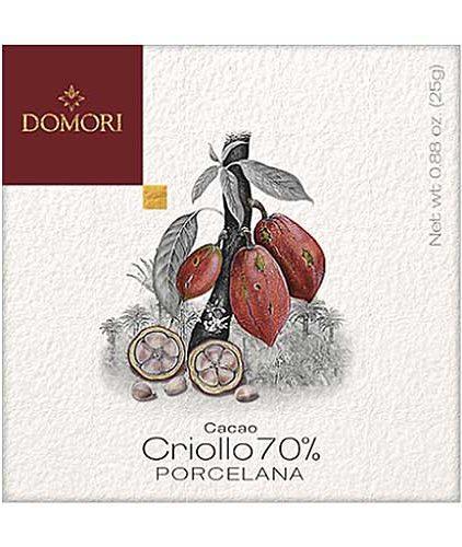 Domori - Porcelana 70 % - Cacao Criollo