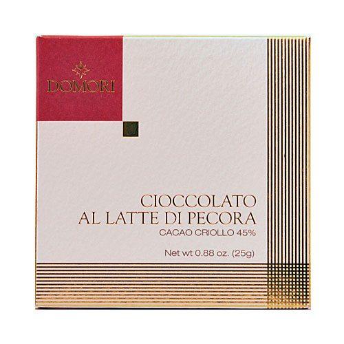 Domori - Cioccolato al Latte di Pecora - Cacao Criollo 45 %