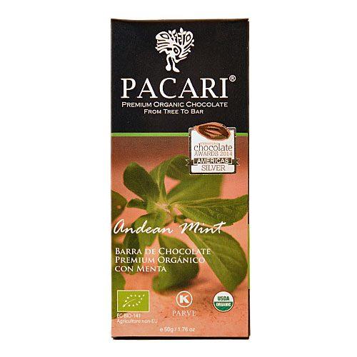 Tavoletta Cioccolato Pacari-Andean Mint