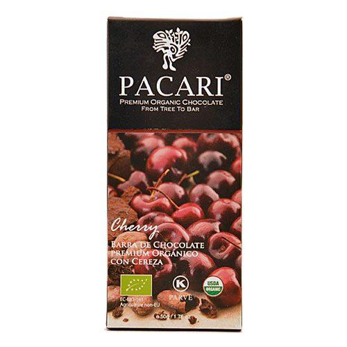 Tavoletta Cioccolato Pacari-Ciliegia