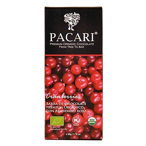 Tavoletta Cioccolato Pacari-Mirtillo Rosso