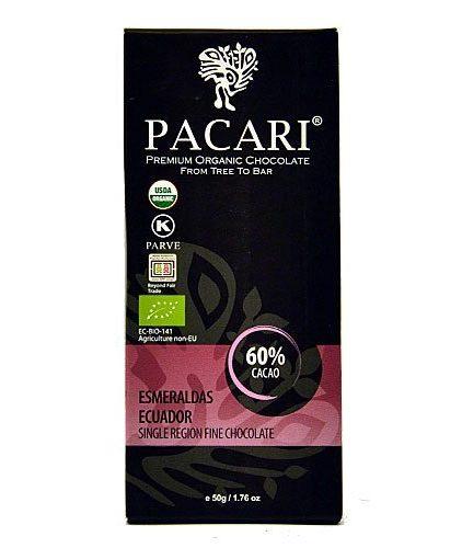 Tavoletta Cioccolato Pacari - Esmeraldas 60% - Single Region Fine Chocolate