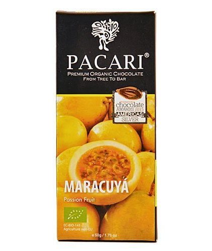Tavoletta Cioccolato Pacari-Maracuya 60% Cacao - Passion Fruit