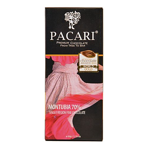 Tavoletta Cioccolato Pacari-Montubia 70% Cacao