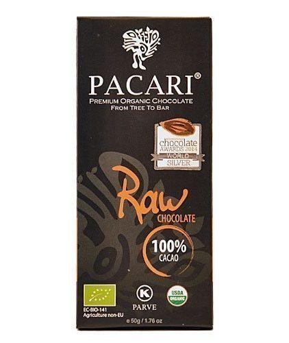 Tavoletta Cioccolato Pacari-Raw 100%