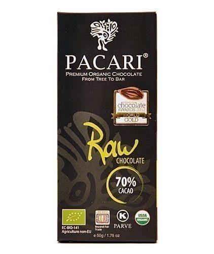 Tavoletta Cioccolato Pacari-Raw 70%
