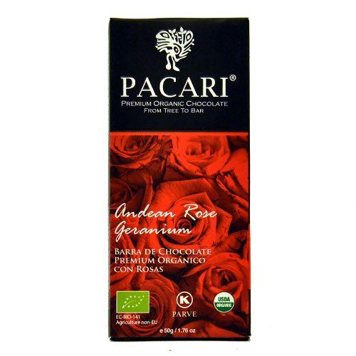Tavoletta Cioccolato Pacari-Andean ROse Geranium