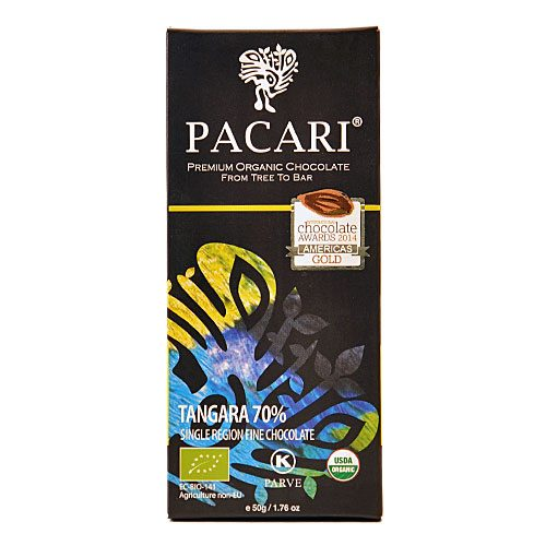 Tavoletta Cioccolato Pacari-Tangara 70% Cacao