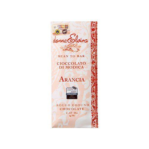 Donna Elvira - Cioccolato di Modica - Arancia