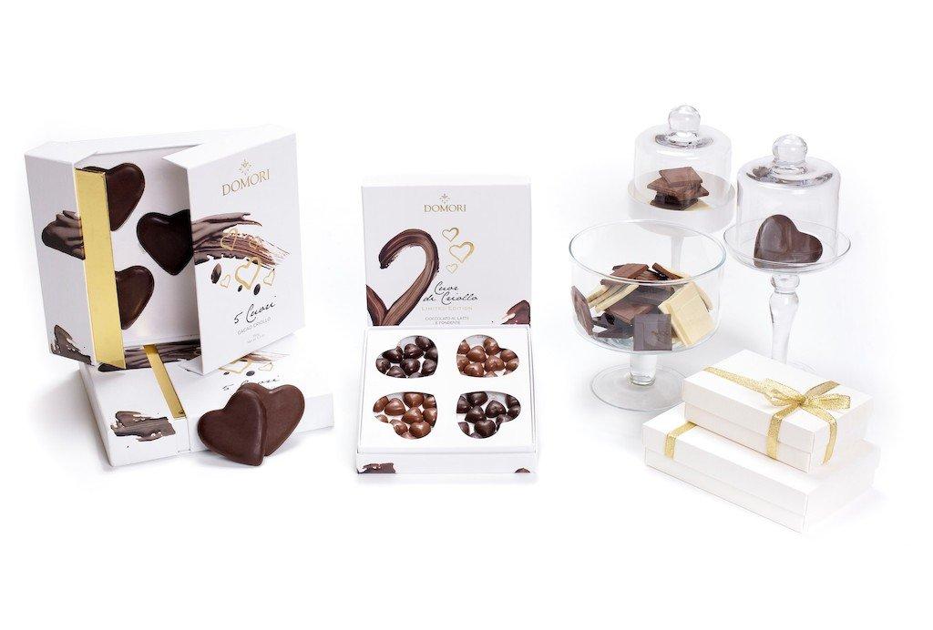 Cosa Regalare a San Valentino - Cioccolato Domori Luxory