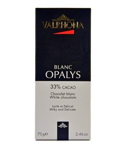Valrhona - Blanc Opalys - Cacao 33%