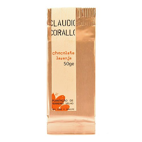 Claudio Corallo - Chocolate Laranja - 70% Puro Cacao