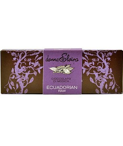donna elvira - cioccolato di modica - ecuadorian raw