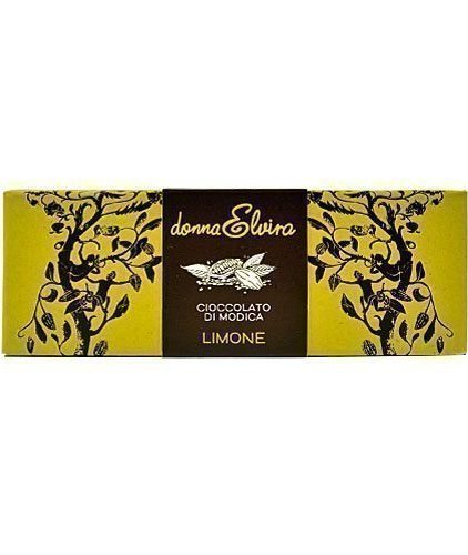donna elvira - cioccolato di modica - limone