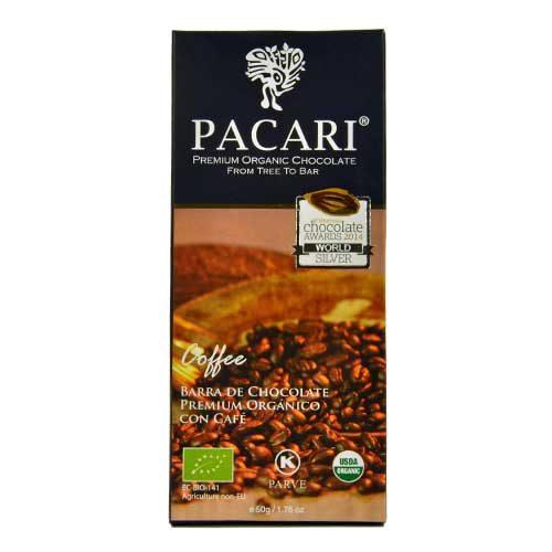 Tavoletta Cioccolato Pacari - Coffee