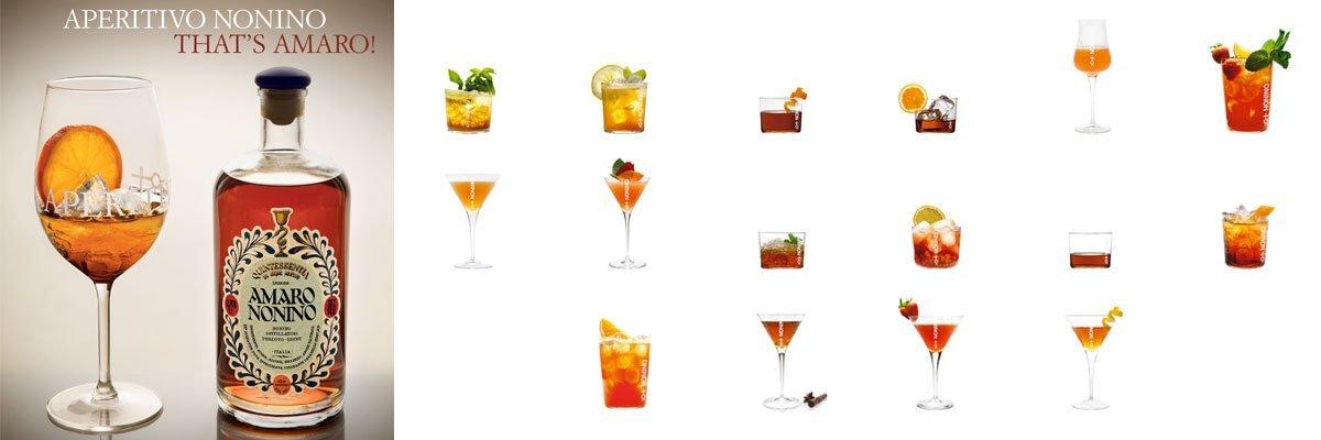 Cocktails Nonino | Amaro Nonino Quintessentia