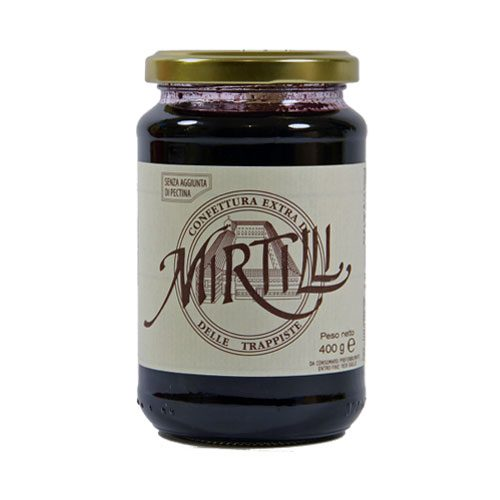 Monastero Trappiste - Confettura di Mirtilli