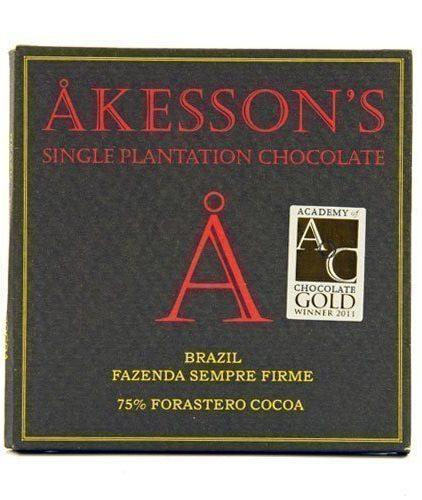 Akesson's - Brazil - 75% Cacao Forastero