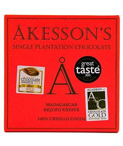 Akesson's - Madagascar - 100% Cacao Criollo