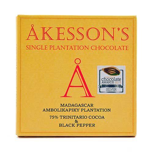 Akesson's - Madagascar & Black Pepper - 75% Cacao Criollo