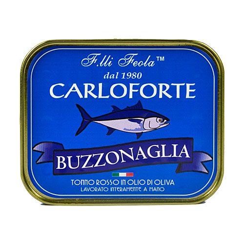 Buzzonaglia di tonno rosso di Carloforte