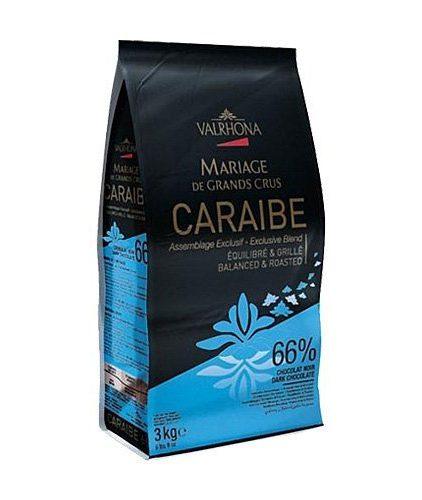 Valrhona - Cioccolato da copertura - Caraibe 66%