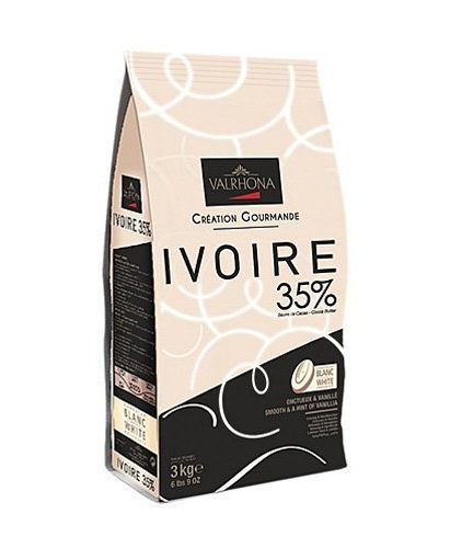 Valrhona - Cioccolato da copertura - Ivoire 35%