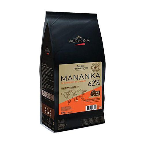 Valrhona - Cioccolato da copertura - Mananka 62%