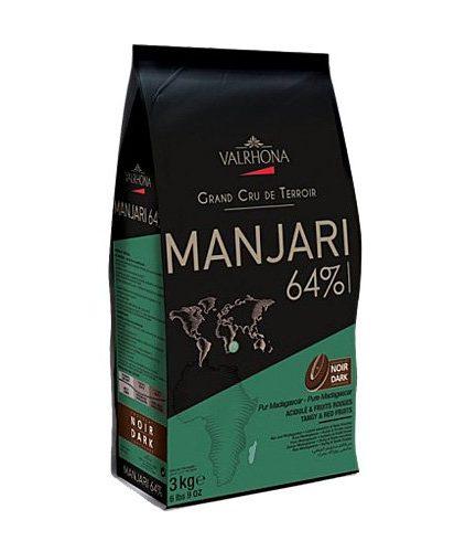Valrhona - Cioccolato da copertura - Manjari 64%