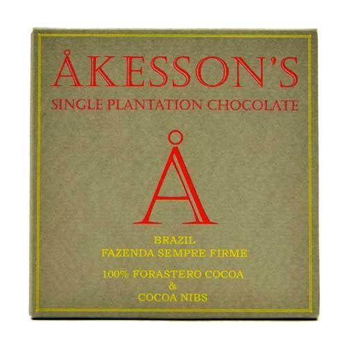 Akesson's Brazil - 100% Forastero & Cocoa Nibs