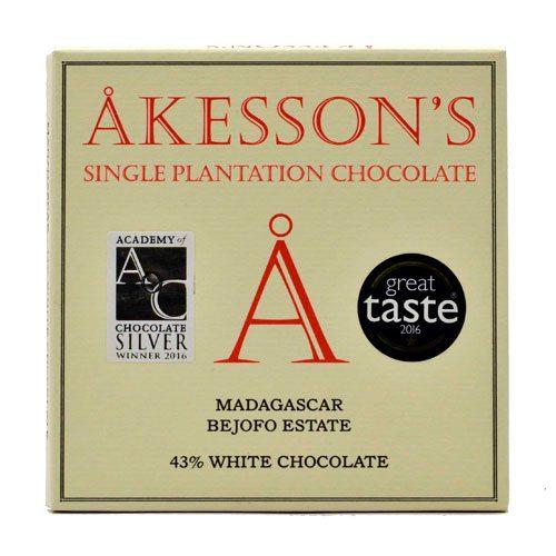 Akesson's Madagascar - 43% White Chocolate