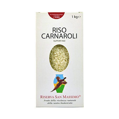 Riserva San Massimo - Riso Carnaroli Super fino - Confezione da 1 KG