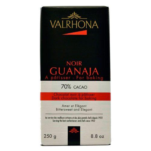 Valrhona - Cioccolato da copertura - Guanaja 70% in Tavoletta