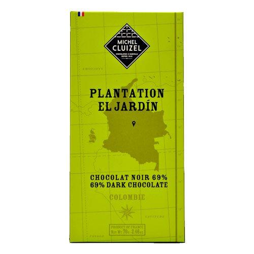 Michel Cluizel - El Jardin Colombie - Chocolat noir 69%