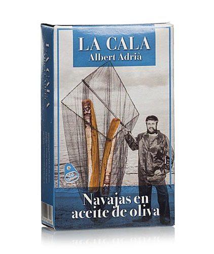 La Cala di Albert Adrià - Canolicchi in olio di oliva